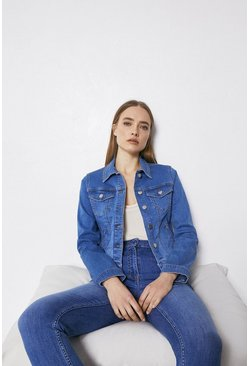Pale wash Organic Classic Denim Jacket