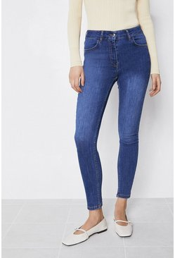 Mid wash 98s Organic High Rise Classic Skinny Jean