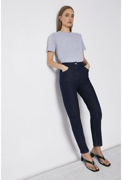 Indigo 86s Organic Original Mom Fit Jean