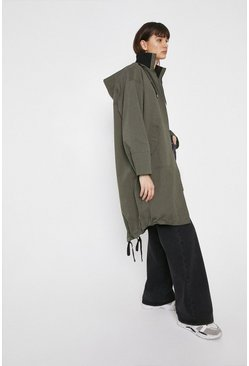 Khaki Cotton Parka