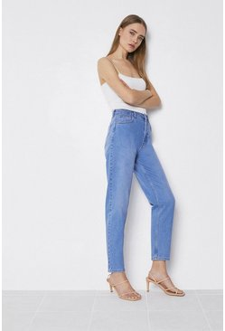 Light wash 86s Organic Cotton Authentic Mom Jeans