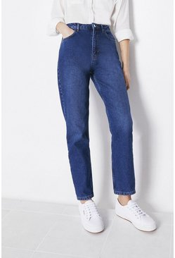 Mid wash Organic Cotton Authentic Mom Jeans