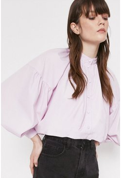 Lilac Shirt In Cotton