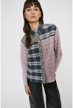 Multi Mixed Check Shirt