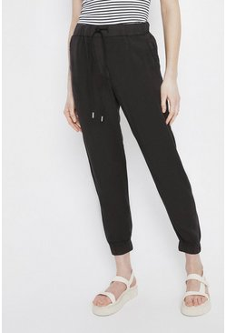 Black Tencel Jogger