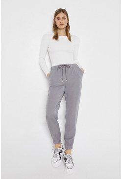 Grey Soft Tencel Jogger
