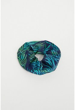 Leaf green Scrunchie