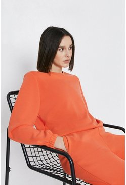 Orange Premium Modal Sweat
