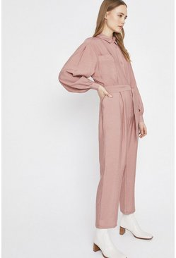 Pink Jumpsuit With Pockets