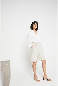 Camel Tailored City Short