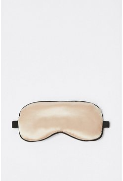 Light pink Satin Eye Mask