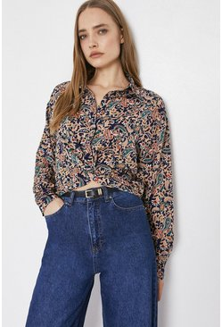 Multi Shirt In Paisley