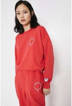 Red Haus Edit Drawstring Sweat