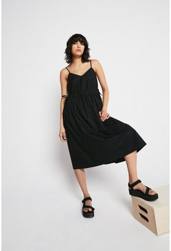 Black Cami Maxi Dress