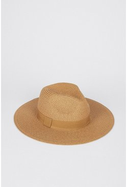 Tan Straw Hat
