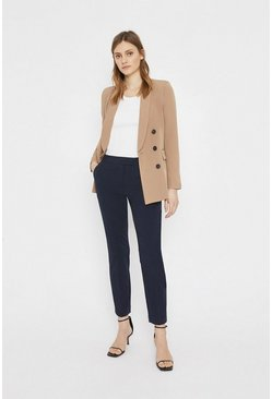 Navy Essential Slim Leg Trouser