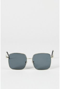 Black Square Frame Sunglasses