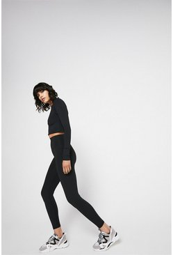 Black Power Stretch 7/8 Active Legging