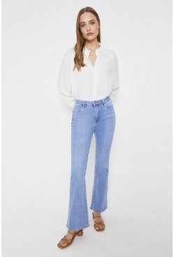 Light wash Denim Flare Jean