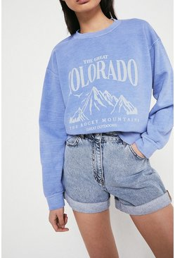 Blue Colorado Sweat