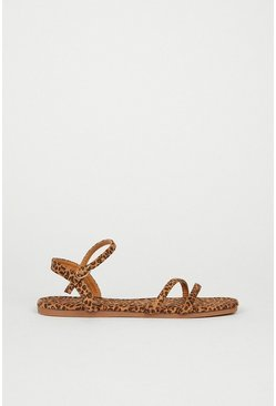 Animal Minimal Strappy Sandal