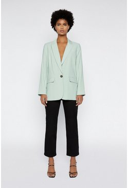 Light green Relaxed Blazer