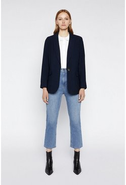 Navy Relaxed Blazer
