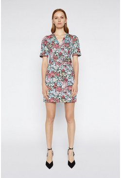 Multi Floral Cotton Dress