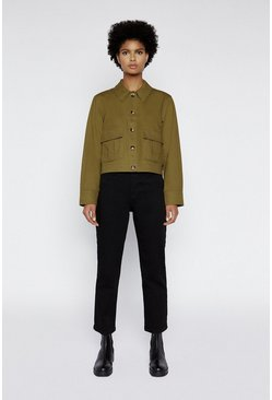 Khaki Twill Pocket Jacket