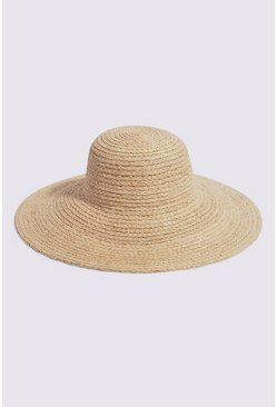 Tan Oversized Sunhat