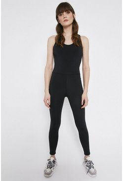 Black Active Jumpsuit