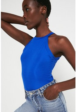 Blue Racer Halter Top