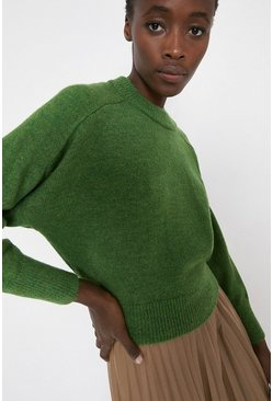 Green Cosy Jumper