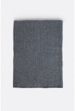 Grey Recycled Polyester Snood