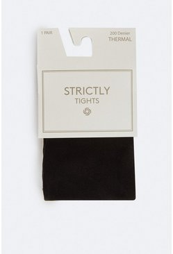 Black Single Pack Thermal Tights
