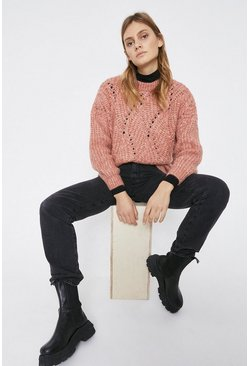Light pink Cosy Stitch Jumper