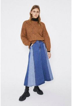 Tan Cosy Stitch Jumper