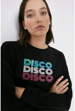 Black Disco Disco Sweatshirt