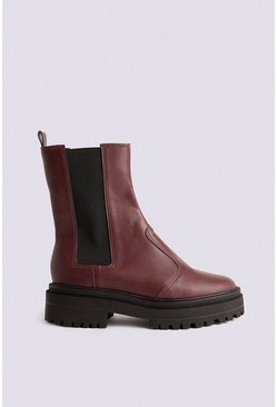 Berry Chunky Pull On Boot