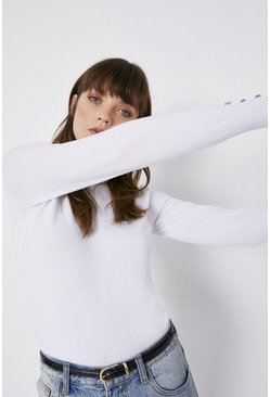 Ivory Crew Neck Jumper