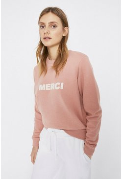 Light pink Merci Sweatshirt
