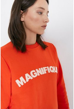 Orange Magnifique Sweatshirt