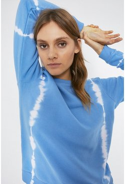 Light blue Tie Dye Sweatshirt